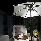 Patio Umbrella Light,eTopxizu Cordless Table