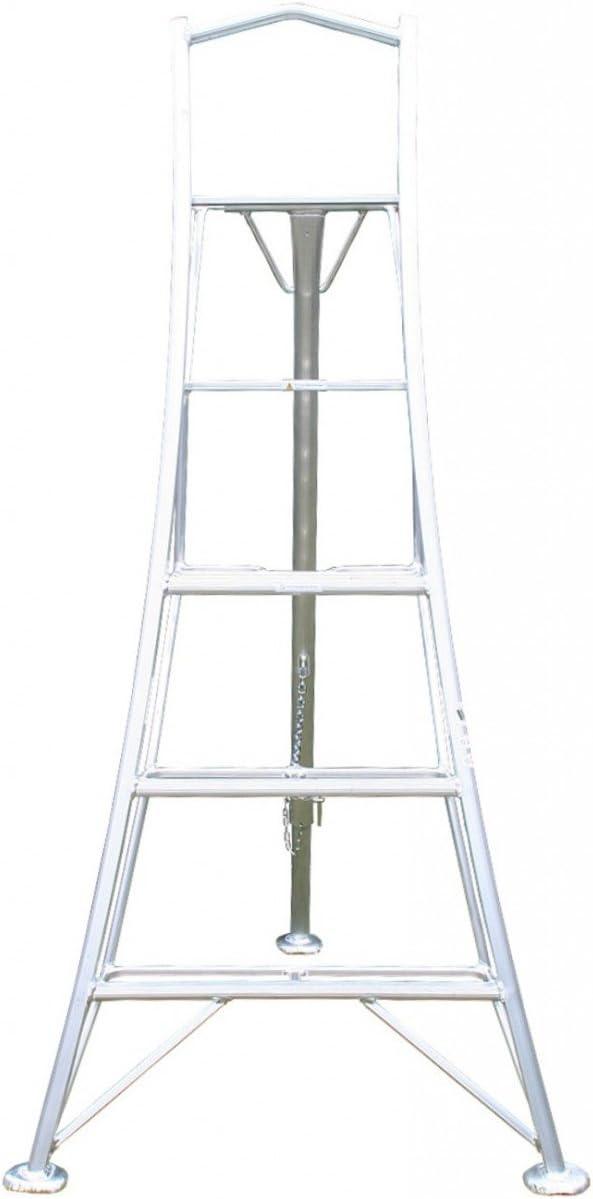 Plataforma 1,8 m (5.90ft) jardín trípode escalera – Único 3rd ajustable pierna: Amazon.es: Bricolaje y herramientas