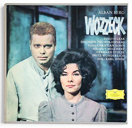 Wozzeck, Alban Berg, Karl Bohm, 2 LPs, Deutsche Grammophon ()