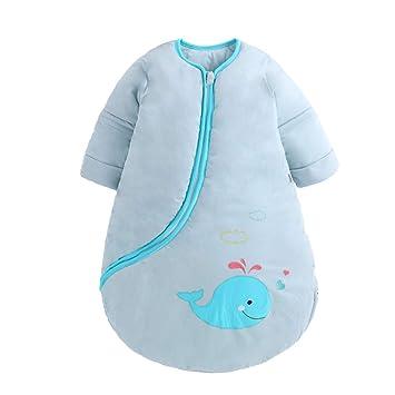CoolClouds Saco de Dormir para bebé Invierno 3.5 TOG Saco de Dormir de algodón orgánico Adecuado para el Nacimiento hasta 2 años de Edad: Amazon.es: Hogar