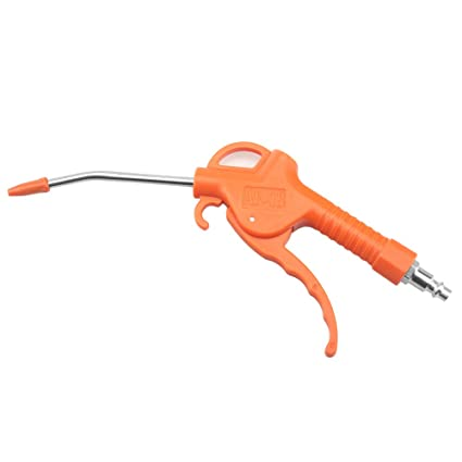 short Red Plastic Handle Angled Bent Nozzle Air Duster Blow Gun Cleaner Air Blower Duster Blow Dust Gun Pneumatic Tool Moderate Price