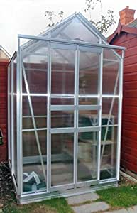 Simplicity Sandon Greenhouse 4 x4 With Polycarbonate Glazing