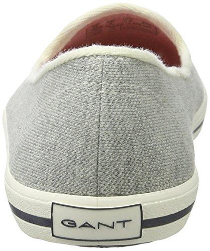 Gant New Haven, Mocasines para Mujer Grau (gray melange)