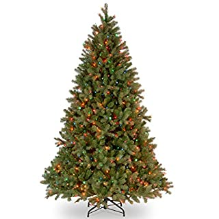 National Tree 6.5 Foot Feel Real Downswept Douglas Fir Tree with 650 Multicolored Lights, Hinged (PEDD1-325-65) (B01IRR9FIA) | Amazon price tracker / tracking, Amazon price history charts, Amazon price watches, Amazon price drop alerts