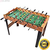 COLIBROX--45'' Foosball Table Arcade Game Christmas Gift Soccer For Kids Indooor Outdoor. bubble hockey table. table hockey games for sale. best table tennis paddle. best table tennis tables.