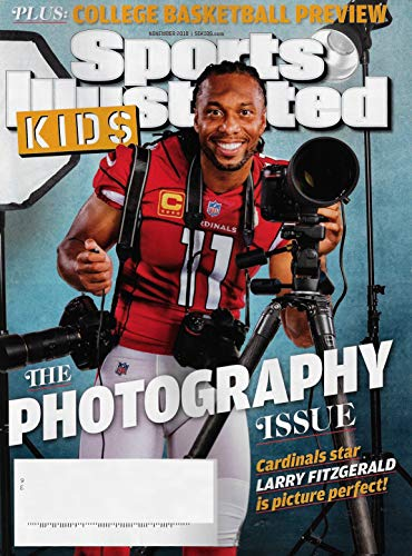 Sports Illustrated Kids November 2018 THE PHOTOGRAPHY ISSUE, LARRY FITZGERALD Cover