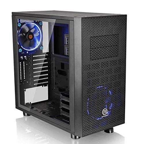Gabinete TT Core X31 TG Black Win SECC Tempered Glass, Thermaltake, CA-1E9-00M1WN-03