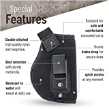 IWB Gun Holster by PH - Concealed Carry Soft