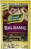 Good Seasons Balsamic Salad Dressing & Recipe Mix .7 oz (Pack of 12)