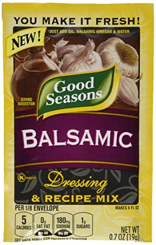 Good Seasons Balsamic Salad Dressing & Recipe Mix .7 oz (Pack of 12)