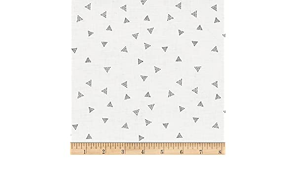 Dear Stella Chroma Basics triángulo Dot Pearl tela por el patio ...