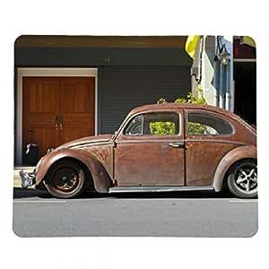 alfombrilla de ratón Marrón oxidado personalizado escarabajo de Volkswagen - rectangular - 23cm x 19 cm