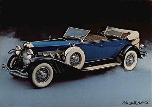Duesenberg Dual Cowl Phaeton Cars Original Vintage Postcard