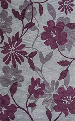 Oriental Plum - KAS Oriental Rugs Bali Collection Elegance Area Rug, 3'3