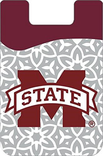 Mississippi State Bulldogs Wallet - Desden Mississippi State Bulldogs Cell Phone Card Holder or Wallet