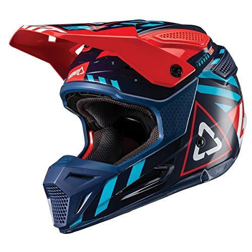 - Leatt Helmet 1019200262 HELMET GPX 5.5 INK/BLUE M 57-58CM DOT
