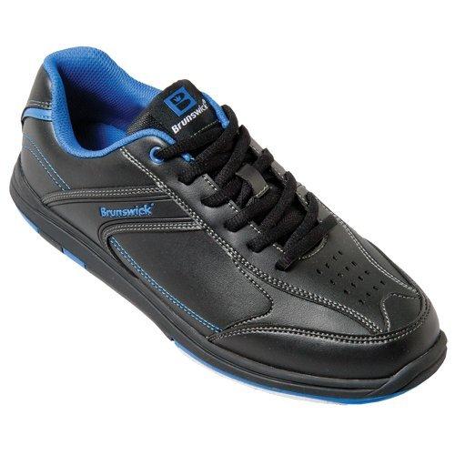 Brunswick Heren Flyer Bowling Schoenen Zwart / Blauw