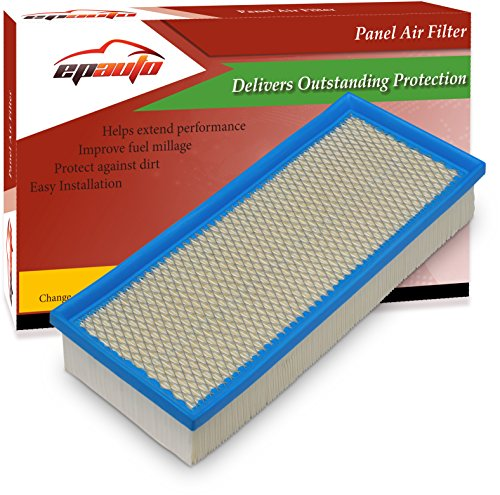 EPAuto GP349 (CA10349) Replacement for Nissan Panel 4 Cylinders Engine Air Filter for Altima (2007-2012)