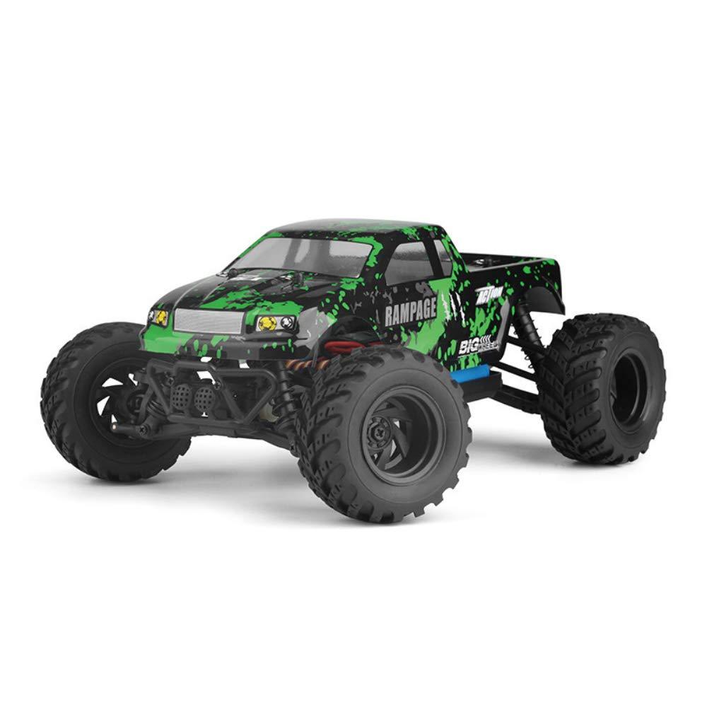 HUAXING RC Cars 1:18 2.4 G 4WD 30Km/h de Alta Velocidad eléctrica Cepillado Off-Road Desierto camión con luz LED RC Modelo Coches Juguetes