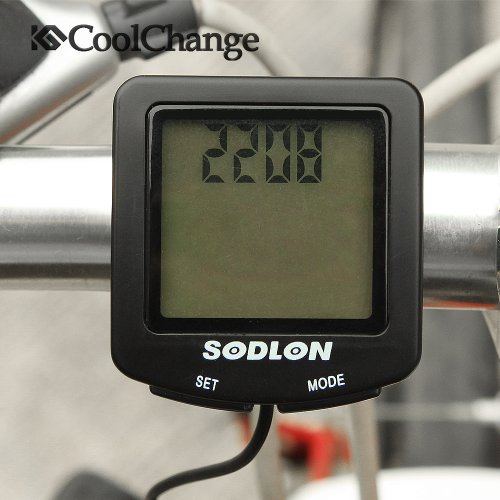 CoolChange Backlight Bike Computer Wireless Bicycle Waterproof Speedometer Cycle Shockproof