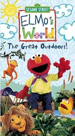 Amazon Com Elmo S World The Great Outdoors 2003 Vhs