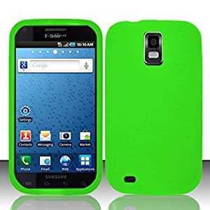 For Samsung Hercules T989 Galaxy S2 (T-Mobile) Silicon Skin Case - Neon Green SC