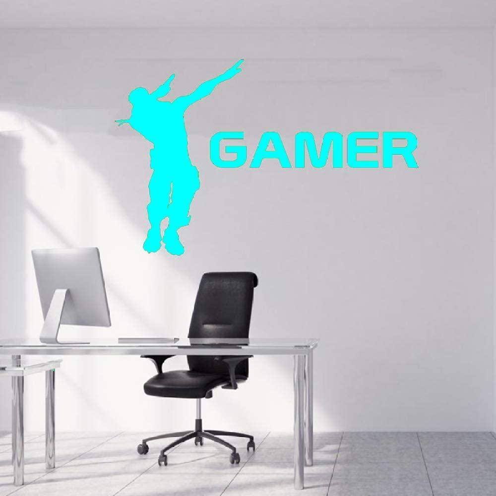 Gamer Wall Sticker Decal Gamer quote Controller Videojuego Boys ...