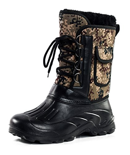 Alta Deserto Stringata Uomo Camo Lavoro Stivali Shoes da AgeeMi Scarpa wCavvq
