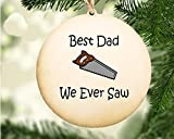 Wood Ornament for Father