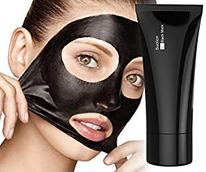 Blackhead Remover Mask [Removes Blackheads] - Premium Quality Black Pore Removal Peel off Strip Mask for Face Nose - Best Mud Facial Mask 60g (2.11 Oz)