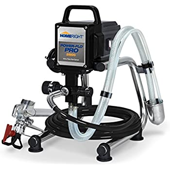 HomeRight C800879 Power-Flo Pro 2800 Airless Paint Sprayers with Hose and Gun