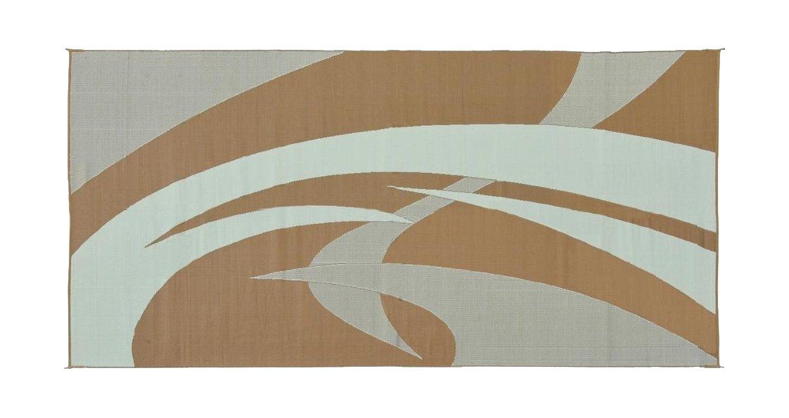 Amazon.com: Reversible Mats 159181 Black/White 9u0027x18u0027 Swirl Pattern Mat:  Automotive