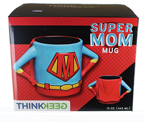 Superhero Mom 15oz Ceramic Mug - A Special appreciable Gift for all Ages
