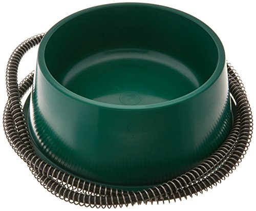 Farm Innovators Dog Bowl - QT GRN Heated Pet Bowl 1 Quart, 25 watts