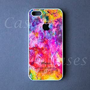 Iphone 5 Case - Colorful Apple Iphone 5 Cover by lolosakes