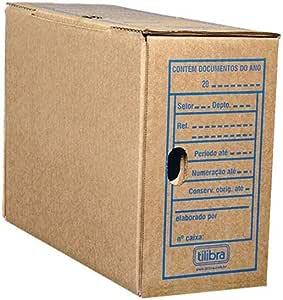 Arquivo Morto Papelão Ofício 340x133x240mm,Tilibra - 1 un