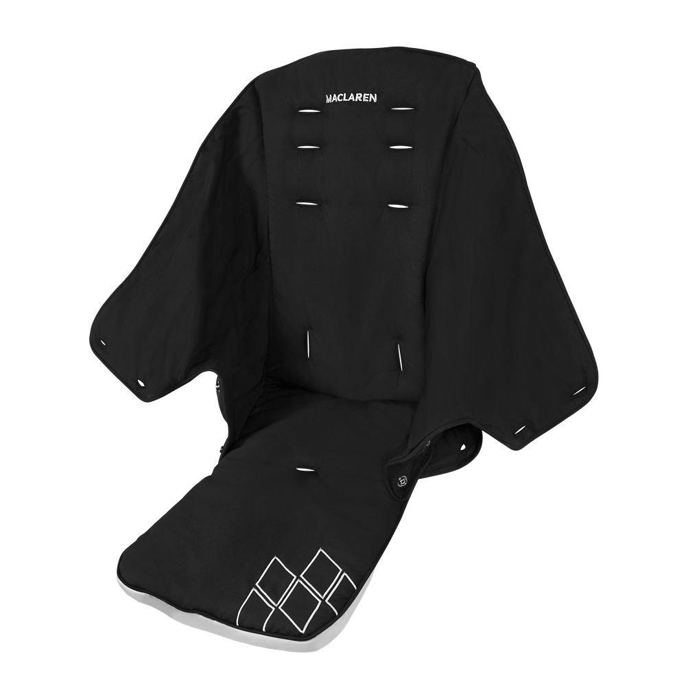 Maclaren Techno XT Seat (Black/Silver) Maclaren UK Baby PM1Y140092