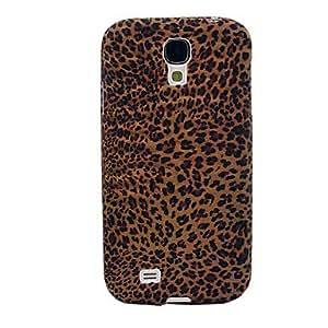 Mini Patrón Leopard Print Caso suave de TPU para Samsung Galaxy S4 i9500