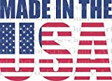 1/2 Sheet - Made in the USA America Birthday - Edible Cake/Cupcake Party Topper