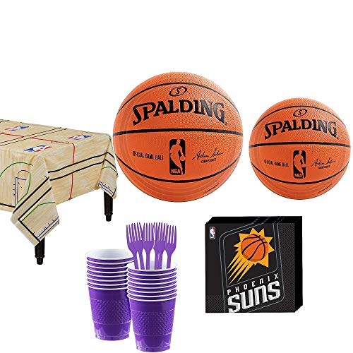 Party City Phoenix Suns Party Kit 16 Guests,