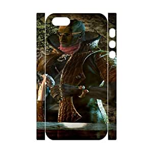 Bayonetta iphone 5 5s Cell Phone Case 3D White yyfD-058774