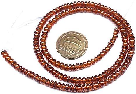 Hessonite - Piedra de granate suave, microondas, perlas sueltas ...