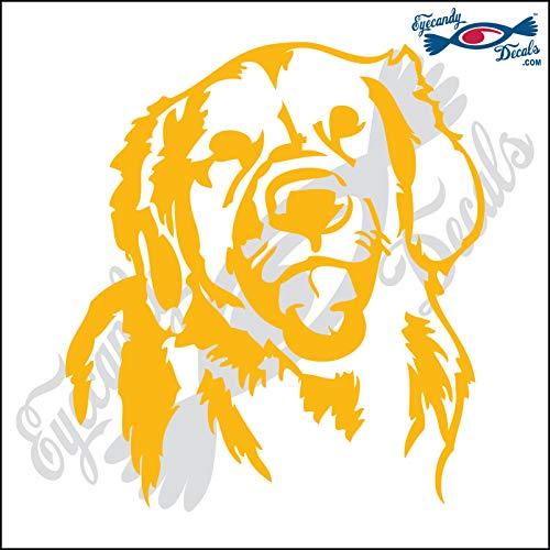 Eyecandy Decals Retriever Dog Head 5