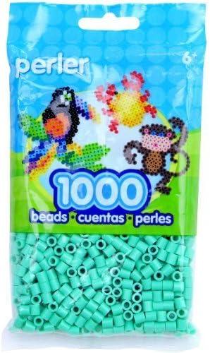 Perler Fun Fusion Beads 1000//Pkg-Light Green by Perler