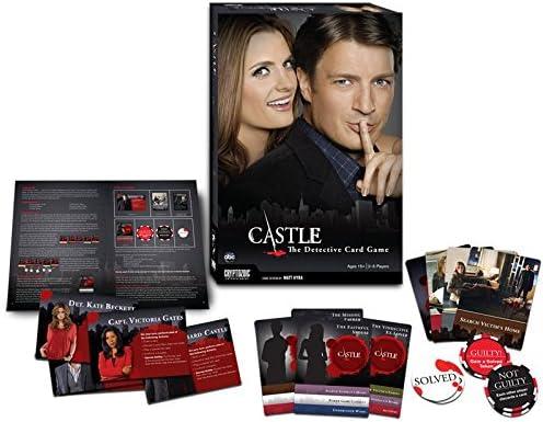 Castle: Detective Game - Juego de mesa (en inglés): Amazon.es ...