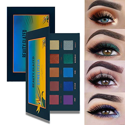 New Beauty Glazed 15 Colors Professional Makeup Eyeshadow Palette Shimmer Matte Eye Shadow Set Cosmetics