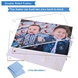5 Pack Acrylic Picture Frame 5x7 Clear Double Sided