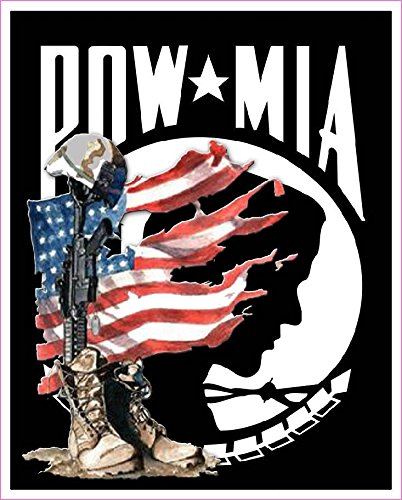 "POW MIA Version 2 Decal 5"" Decal in the United States"