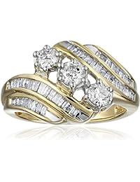 Amazon Com Up To 70 Off Diamond Rings Wedding Bands Clothing