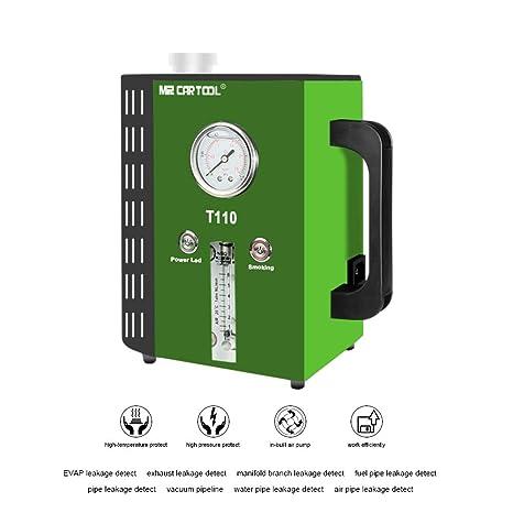 MRCARTOOL Sistema de modo 2 T110 Detectores de fugas de combustible automotriz Probador de fugas de tuberías ...